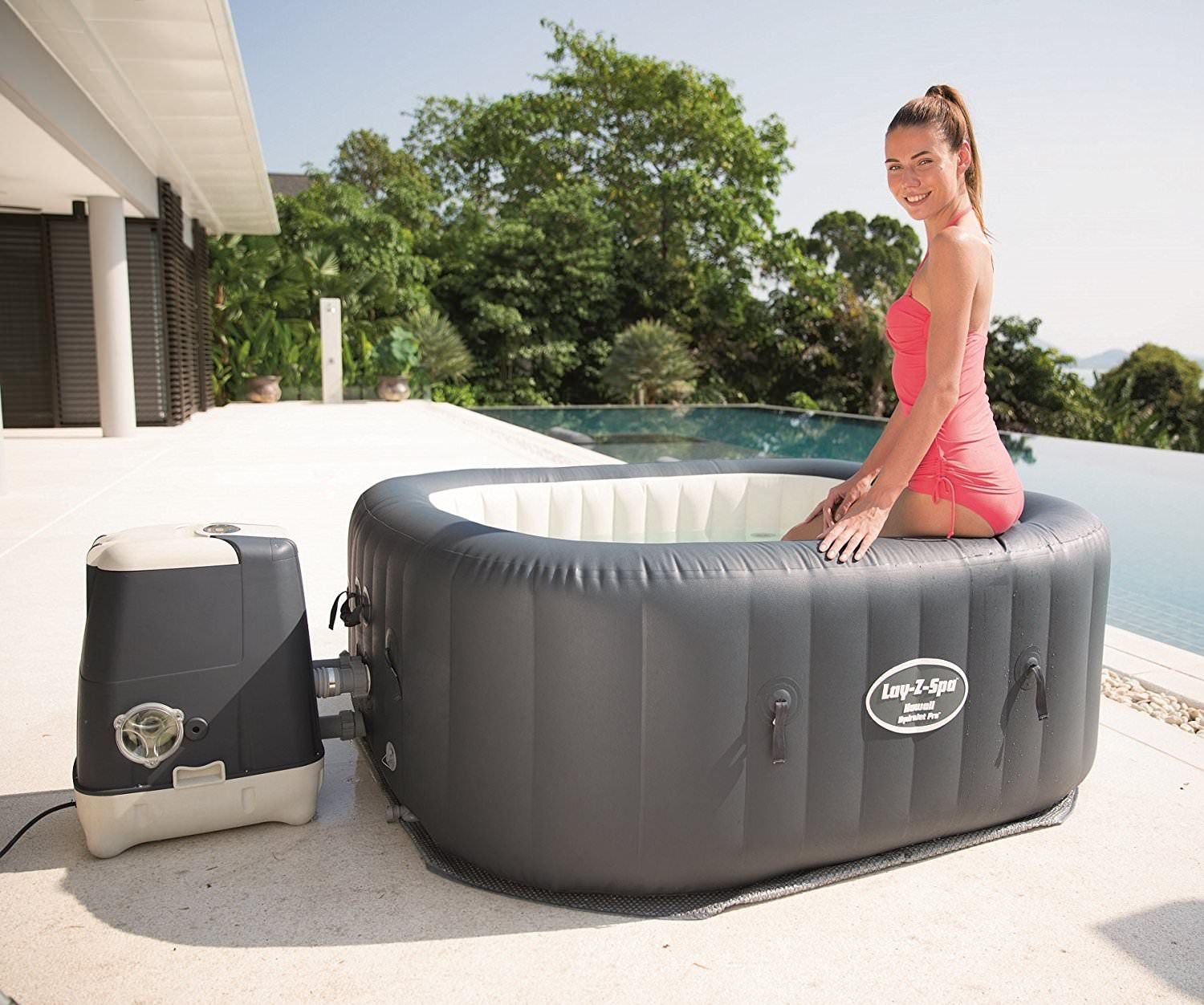 Inflatable Spas and Portable Hot Tubs Are the Best Products for Both Your Home and Your Health